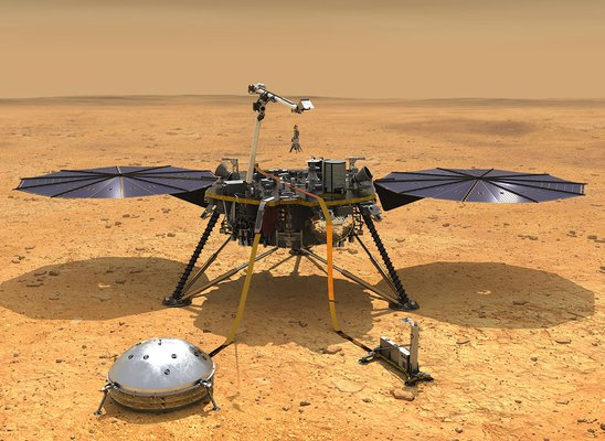NASA's InSight Lander Maps Mars' Deep Interiors For First Time Since Arrival in 2018, Confirms Center Of Red Planet Is Molten