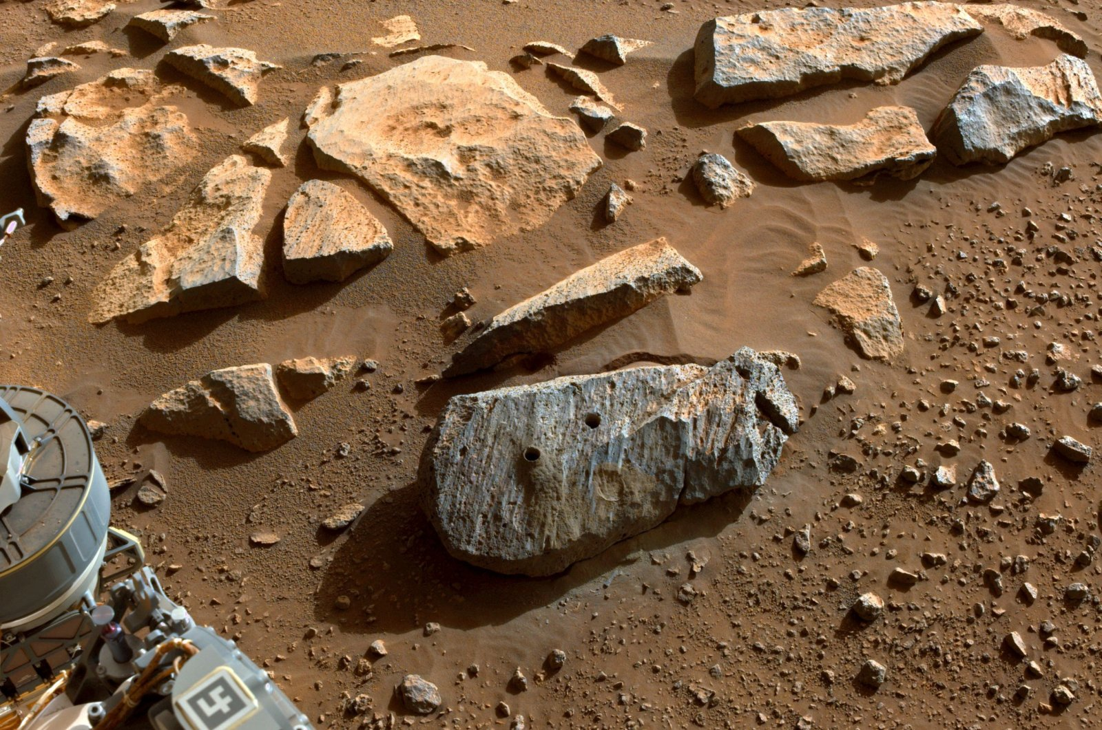 NASA Says Perseverance Collected Two Rock Samples From Rock That Was In Contact With Groundwater For Long